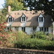 A newly thatched cottage in Dalham